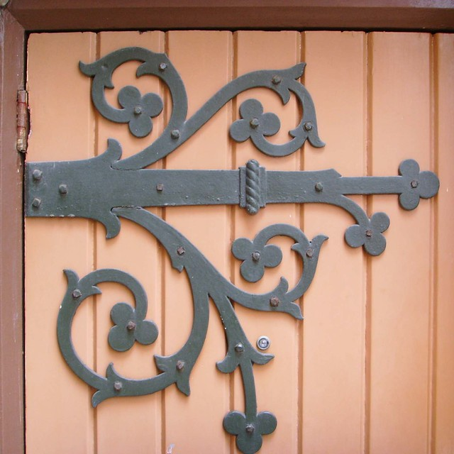 Large Wrought Iron Outdoor Wall Decor