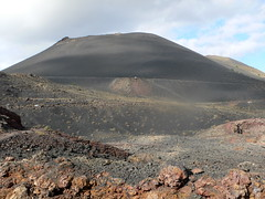 volcano(0.0), ridge(0.0), monument(0.0), butte(0.0), stratovolcano(0.0), soil(1.0), mountain(1.0), spoil tip(1.0), mound(1.0), hill(1.0), geology(1.0), cinder cone(1.0), plateau(1.0), fell(1.0), landscape(1.0), shield volcano(1.0), badlands(1.0), rock(1.0), mountainous landforms(1.0), volcanic landform(1.0),