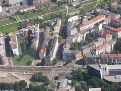 Luftbild vom Ostplatz