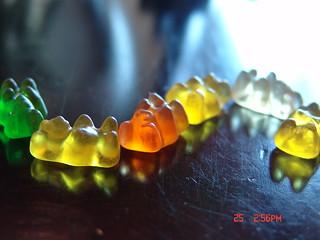 I love gummy bears!
