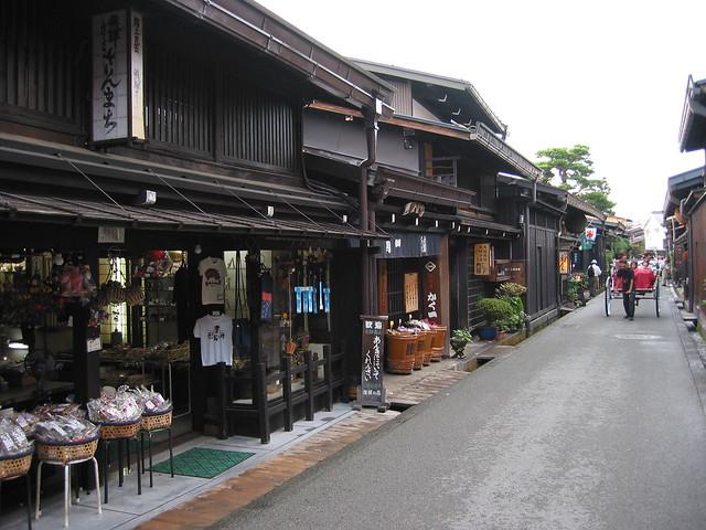 Sannomachi Street scene, Takayama, Japan