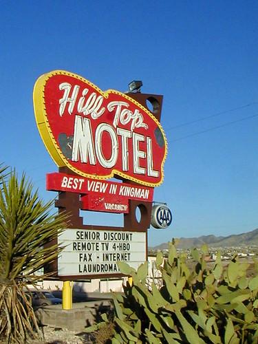 arizona route66 motel kingman hilltopmotel