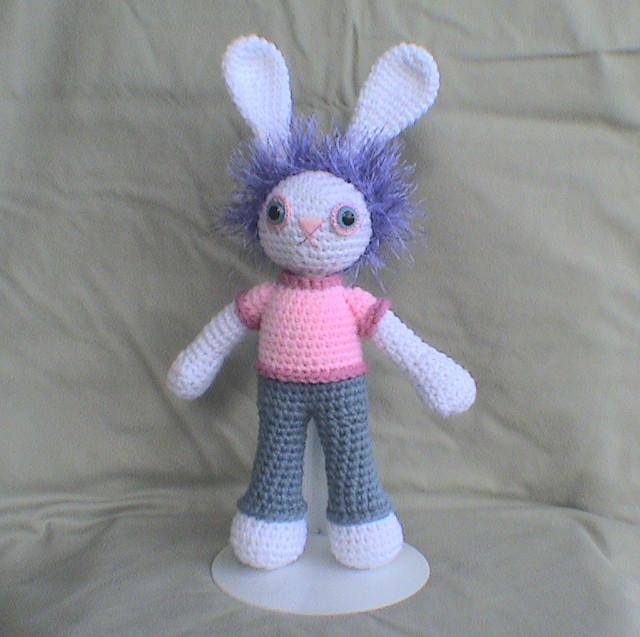 Pig Rabbit Amigurumi Patron : RABBITCROCHET PATTERN Easy Crochet Patterns