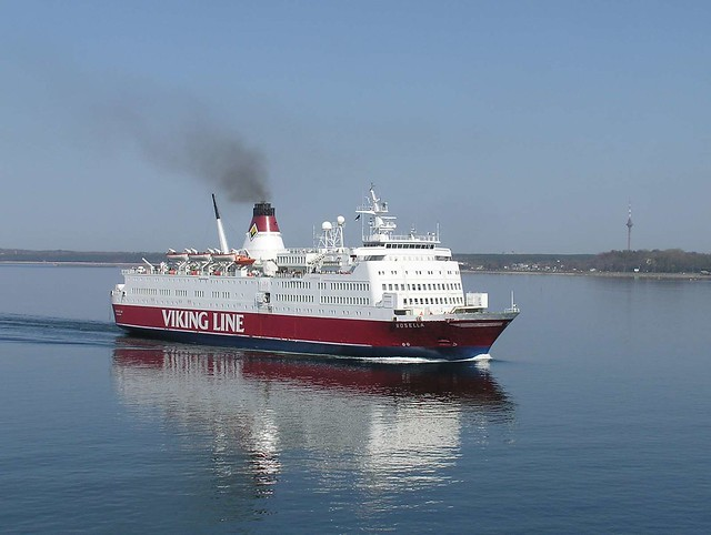 Viking Rosella car ferry, Tallinn