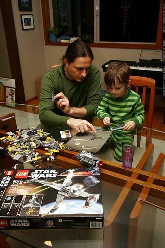 nick and sean, star wars lego engineers    MG 5558