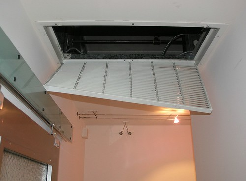 1. popped open air duct