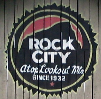 New Rock City logo on SeeROCKCITY.COM barn