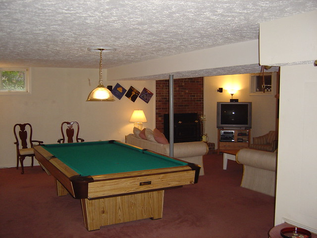 basement pool table flickr photo sharing