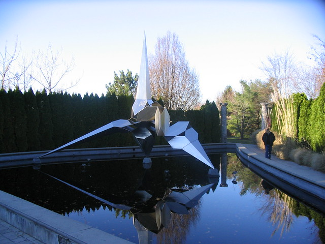 Grounds for Sculpture: Sci-Fi sculpture