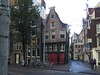 Distorted houses in Amsterdam by Sylvain Wallez