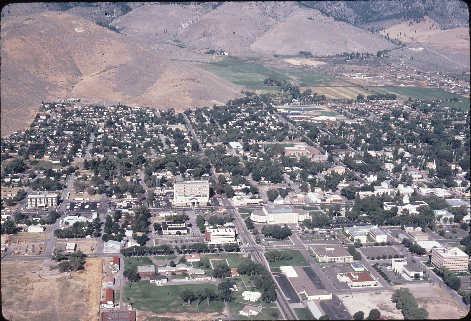 Idaho House Above Downtown Carson City 1981 Around Carson