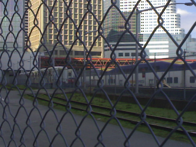 Two SkyTrains and One West Coast Express