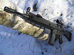 assault rifle, trigger, weapon, rifle, machine gun, firearm, gun, gun barrel,
