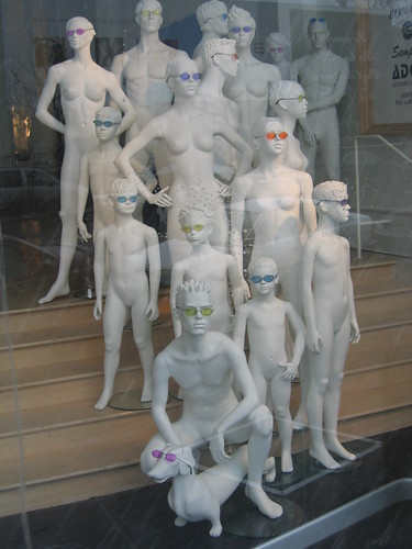 Mannequins in Montreal by frs