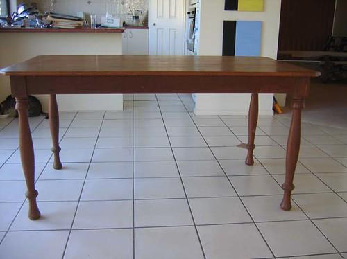 Silky Oak Dining Table