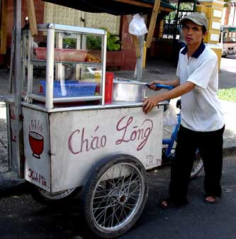 Saigon street carts