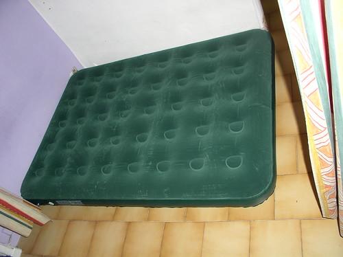 my luxurious air mattress bed