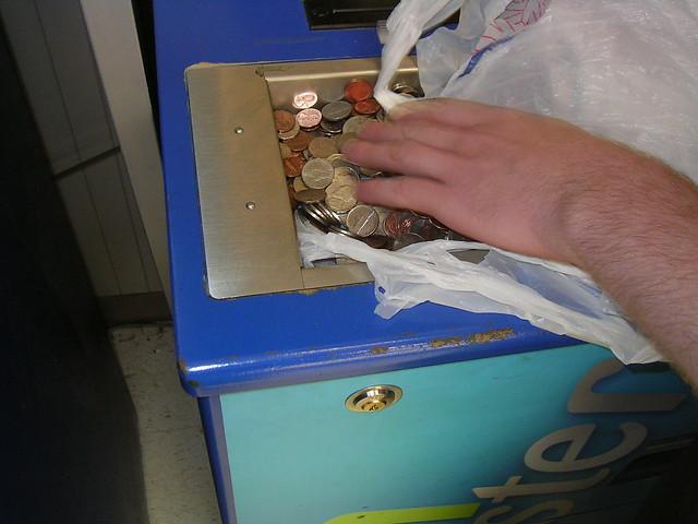 safeway coin machine