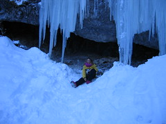extreme sport(0.0), ice climbing(0.0), adventure(1.0), ice cave(1.0), winter(1.0), snow(1.0), ice(1.0), cave(1.0), blue(1.0), freezing(1.0),
