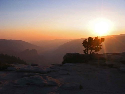 Sunset at Yosemite