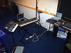music(0.0), studio(1.0), recording(1.0), electronic instrument(1.0),
