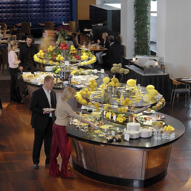 The restaurant at Hilton Copenhagen Airport