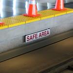 Safe area sign