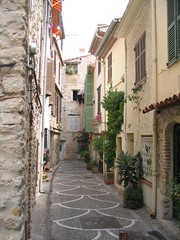 Street in Antibes