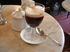 cafã© au lait, drink, irish coffee,