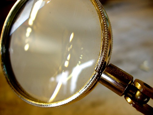 Magnifying Glass For Details (photo: auntiep, flickr)
