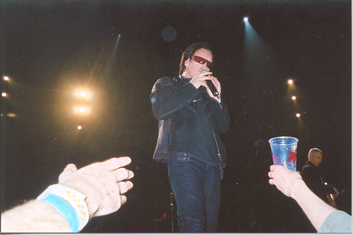 Bono talking to Gabe from Toronto