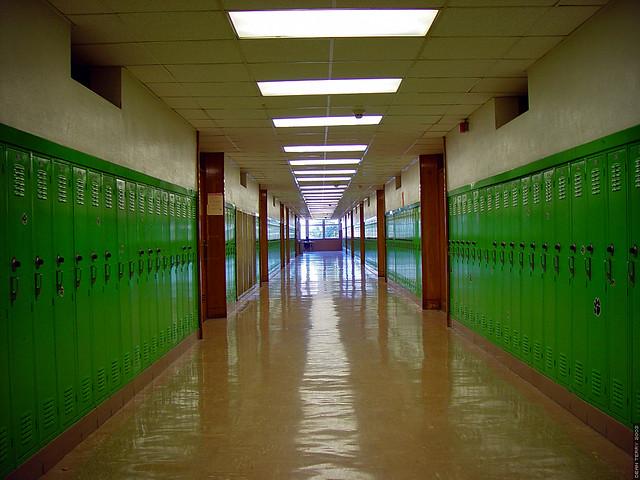 Bryan Adams High School Hallway