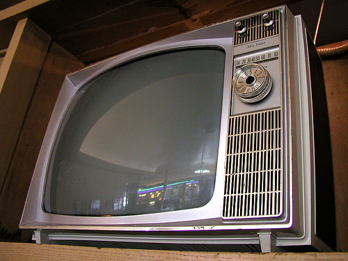 """new"" vista television (Riverview Theater 3/4)"