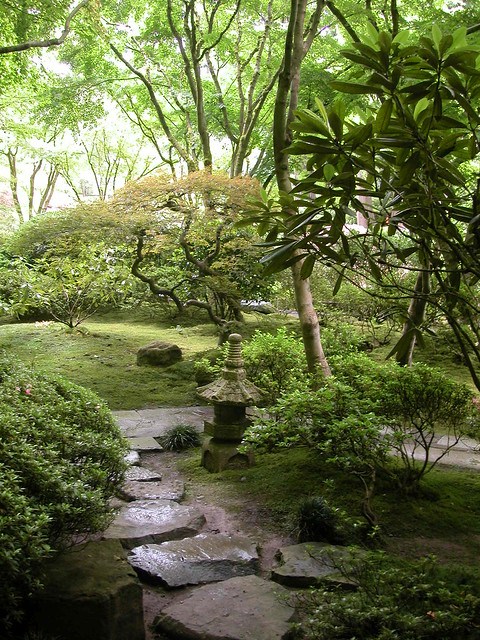 Japanese Garden Portland Oregon Flickr Photo Sharing