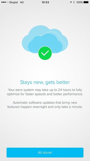 eero iOS App - Setup - #13