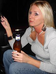 hand, drinking, limb, woman, leg, female, lady, blond, drink, person,