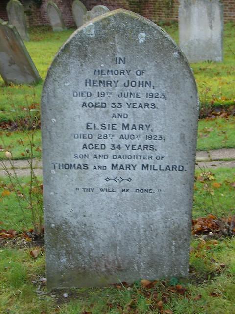 Millard tombstone from Flickr via Wylio