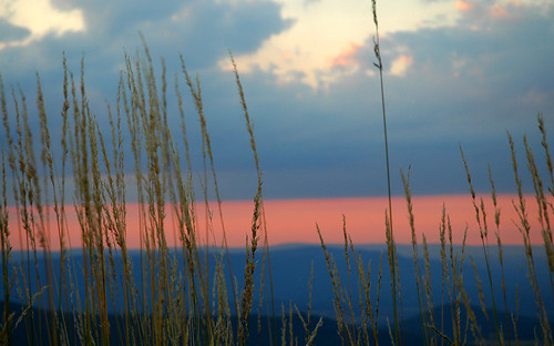 sunset usa mountains color colors grass catchycolors virginia amazing fantastic hues va valley hay shenandoah amateur