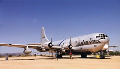 aviation, airplane, propeller driven aircraft, vehicle, military transport aircraft, boeing c-97 stratofreighter,