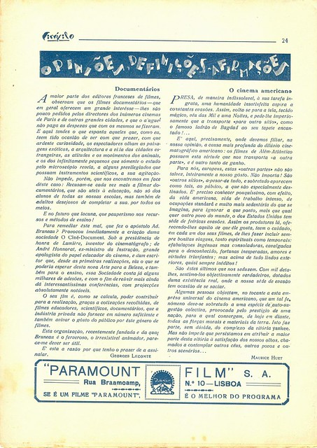 Cinéfilo, March 1930 - 24