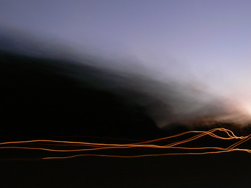 longexposure light sunset driving panasonic