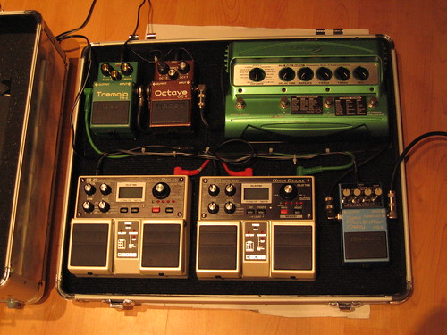 crayxax Pedal Board