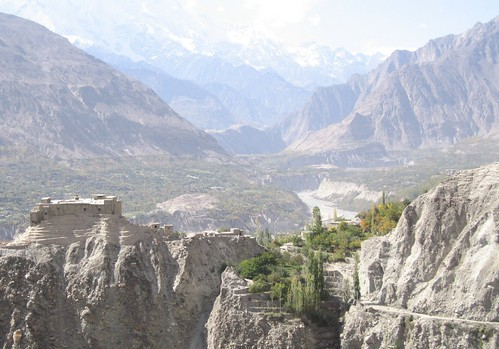 Baltit Fort and the Hunza Valley