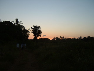 Gede Sunset