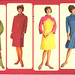 Braniff Stewardesses, 1960s