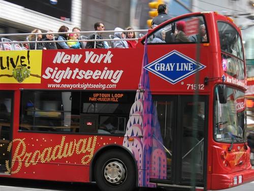 Tour Bus, New York