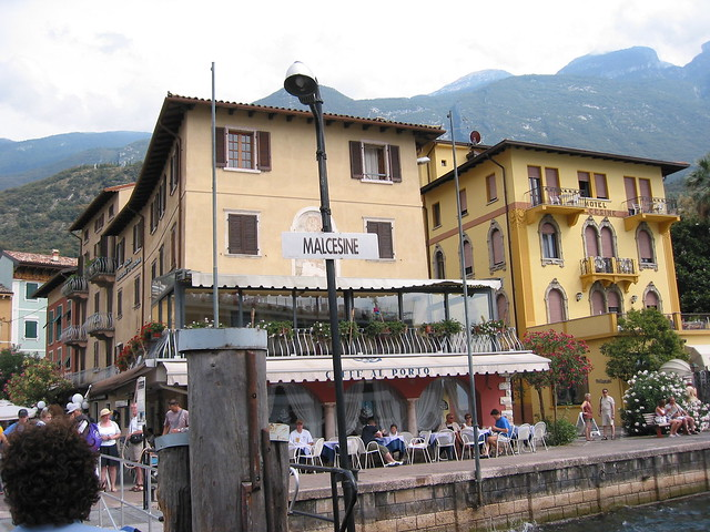 The Malcesine ferry st...