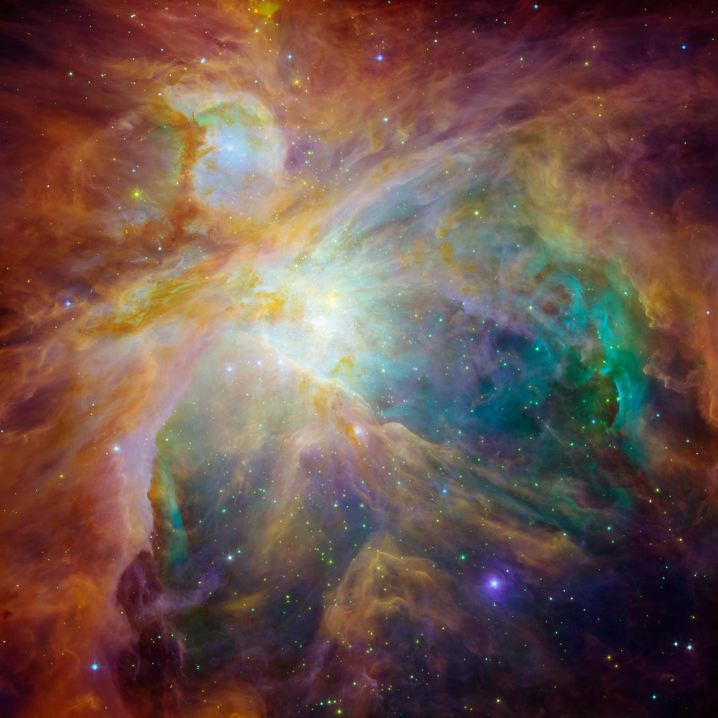 Chaos at the Heart of Orion by NASA
