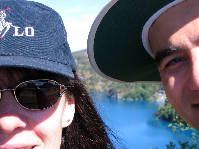 Portrait, Blue Lake