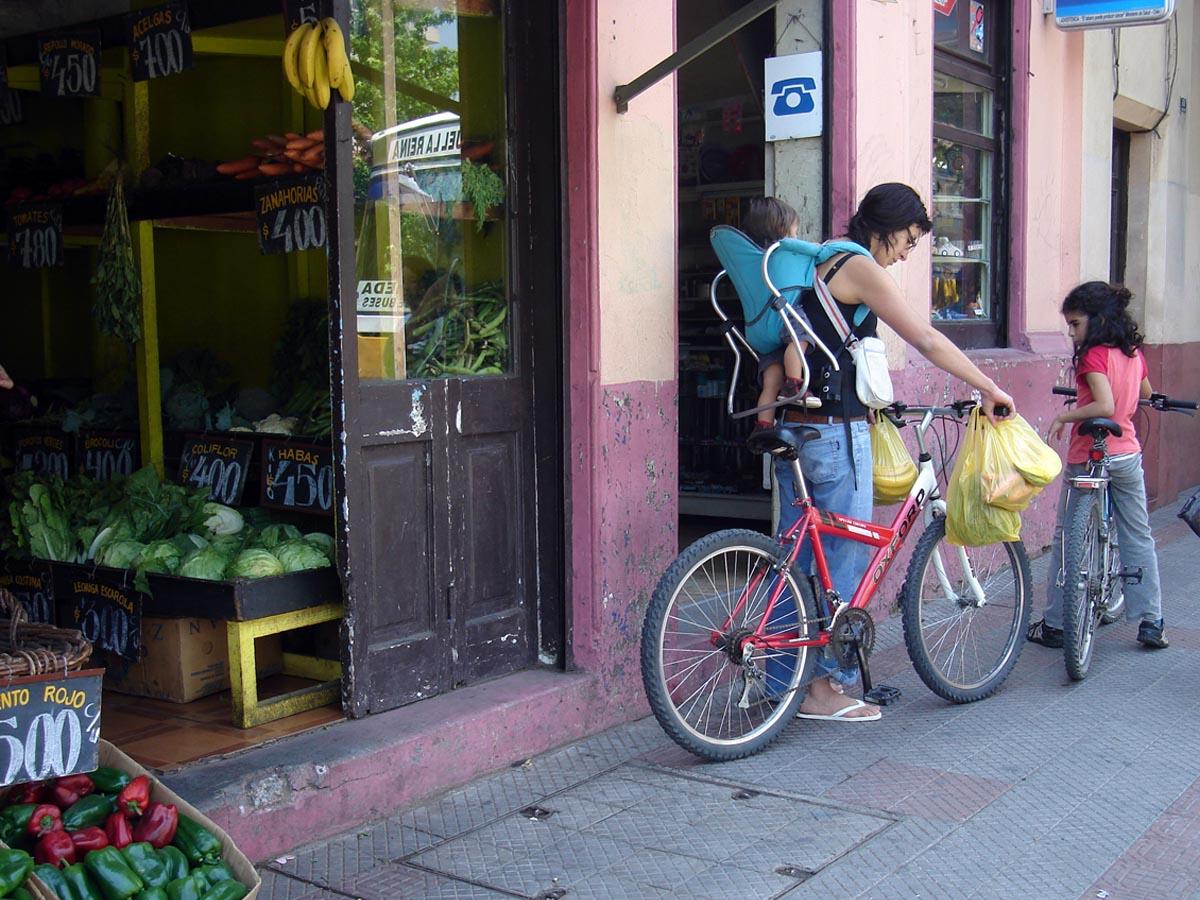 De compras en bici 1
